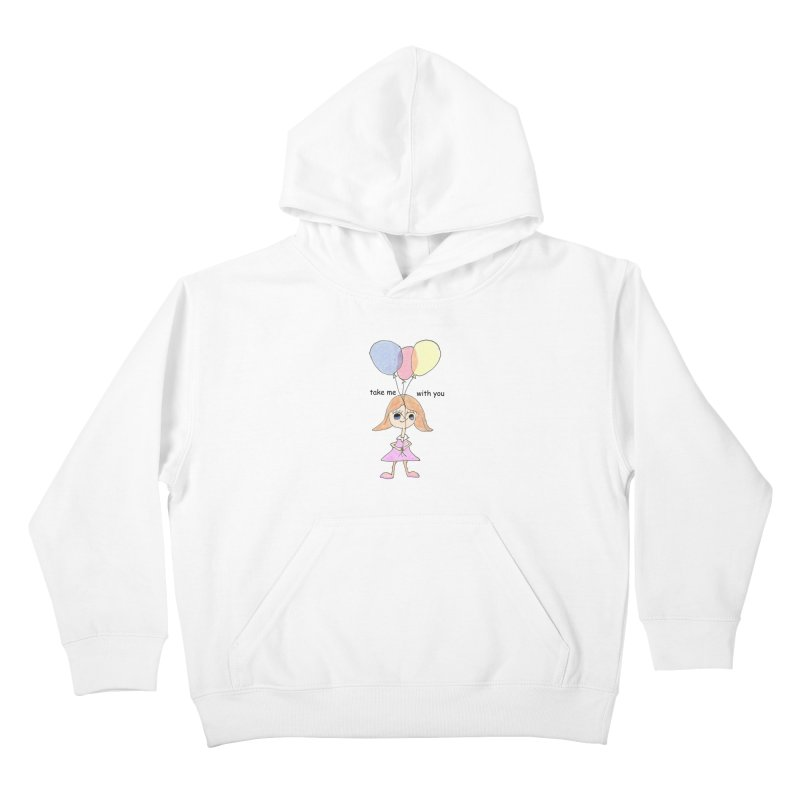 Balloons Kids Pullover Hoody by hotday's Artist Shop