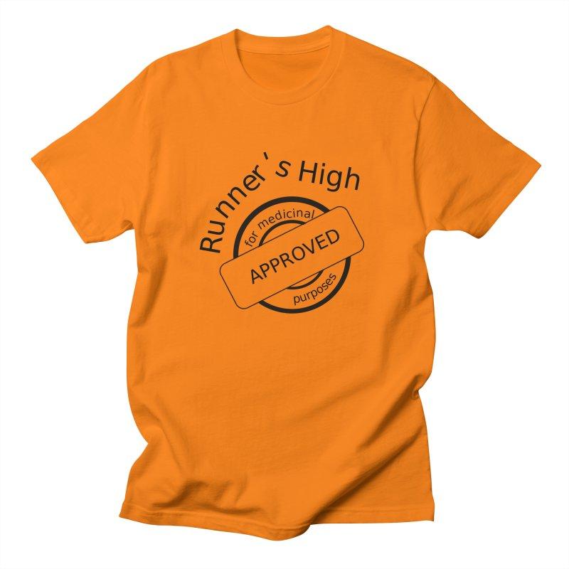 Runner's High Men's T-Shirt by hotday's Artist Shop