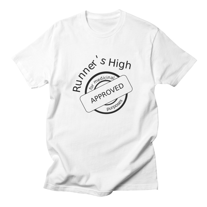 Runner's High Men's T-Shirt by hotday's Artist Shop