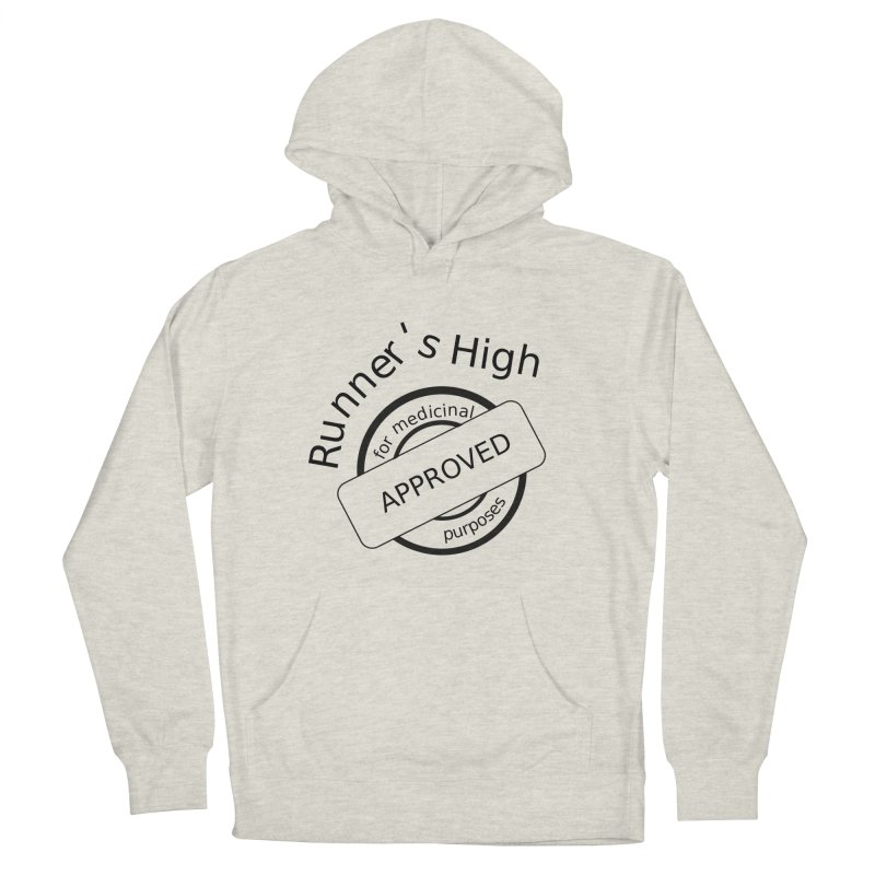 Runner's High Women's French Terry Pullover Hoody by hotday's Artist Shop