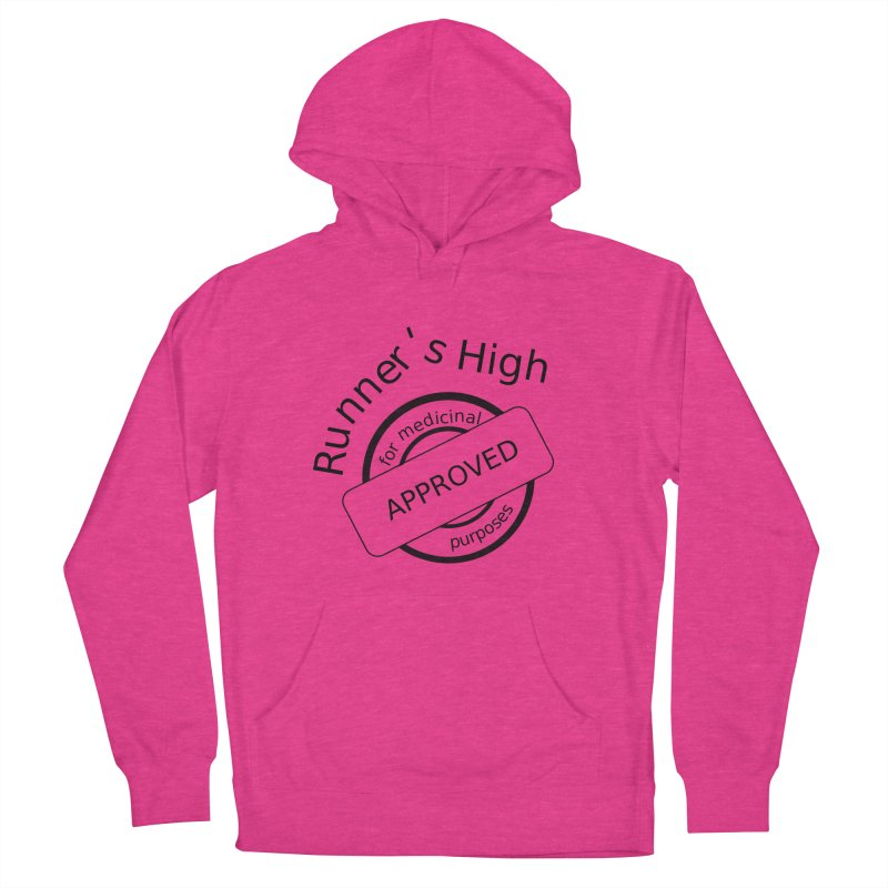 Runner's High Men's French Terry Pullover Hoody by hotday's Artist Shop
