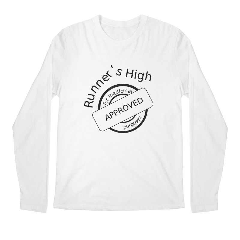 Runner's High Men's Regular Longsleeve T-Shirt by hotday's Artist Shop