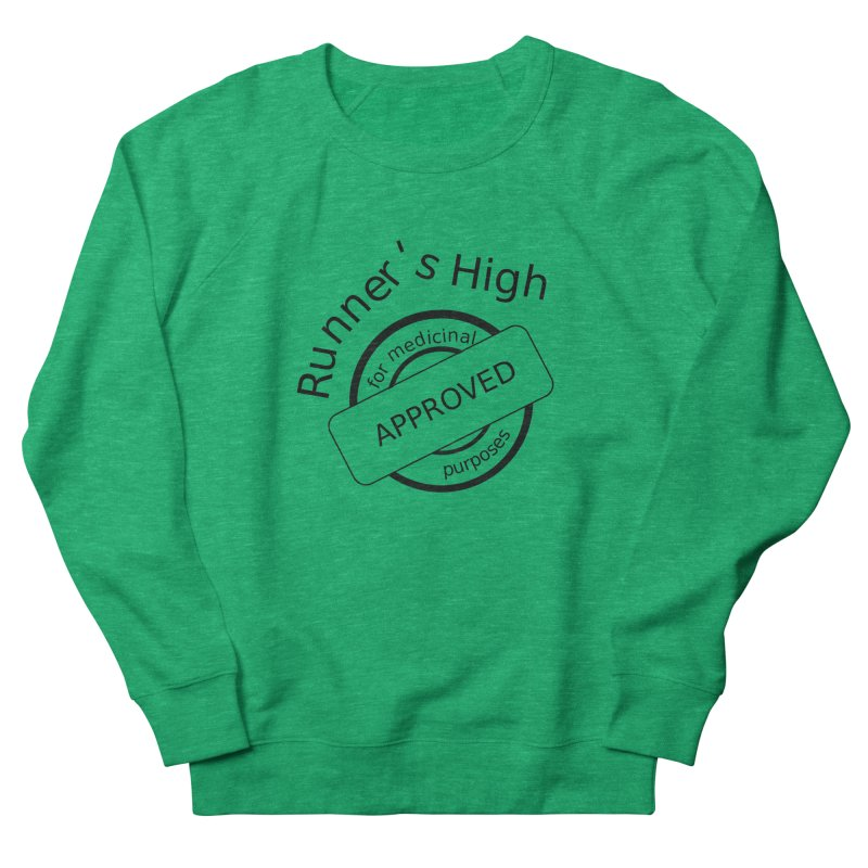 Runner's High Women's French Terry Sweatshirt by hotday's Artist Shop