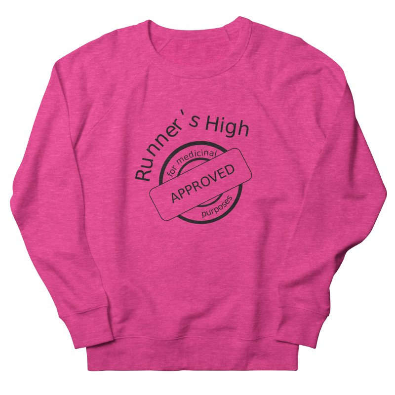Runner's High Men's French Terry Sweatshirt by hotday's Artist Shop