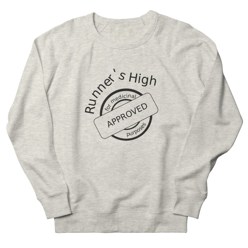 Runner's High Men's Sweatshirt by hotday's Artist Shop
