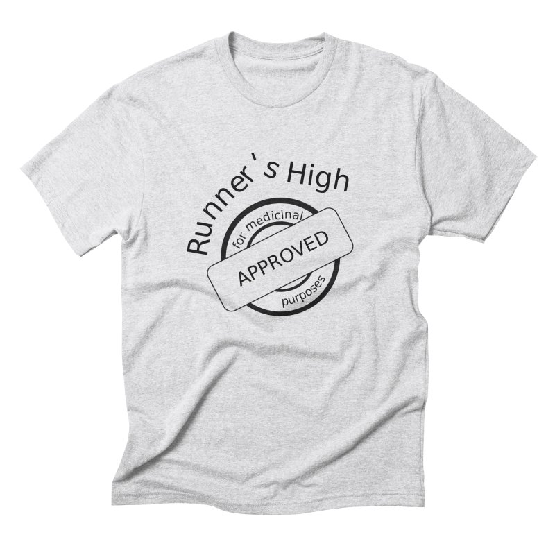 Runner's High Men's Triblend T-Shirt by hotday's Artist Shop