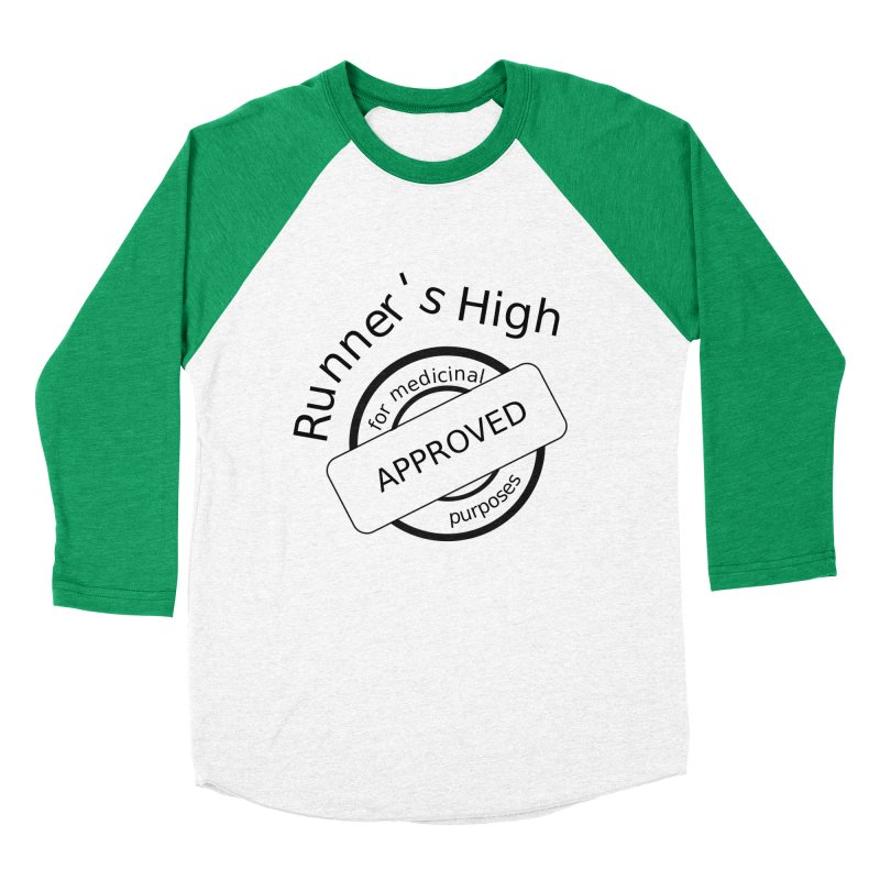 Runner's High Women's Baseball Triblend Longsleeve T-Shirt by hotday's Artist Shop
