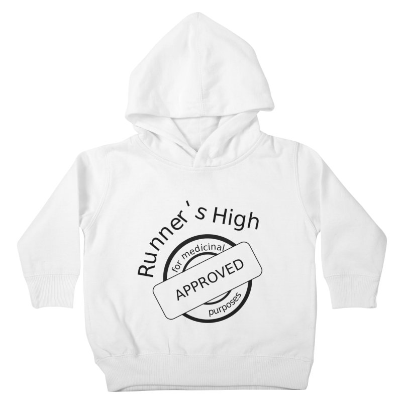 Runner's High Kids Toddler Pullover Hoody by hotday's Artist Shop