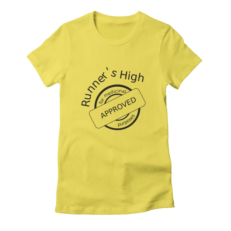 Runner's High Women's T-Shirt by hotday's Artist Shop