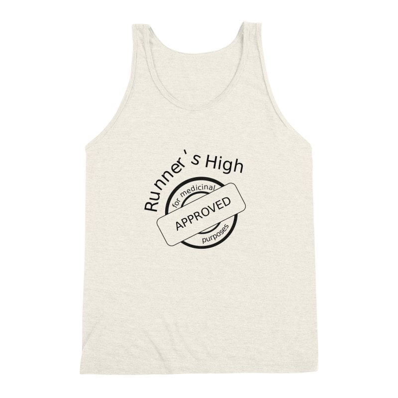 Runner's High Men's Triblend Tank by hotday's Artist Shop