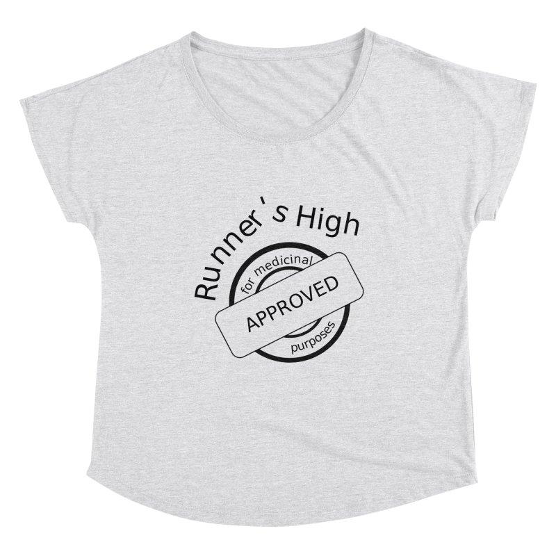 Runner's High Women's Scoop Neck by hotday's Artist Shop