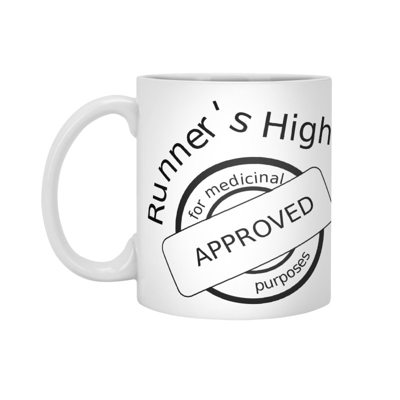 Runner's High Accessories Mug by hotday's Artist Shop