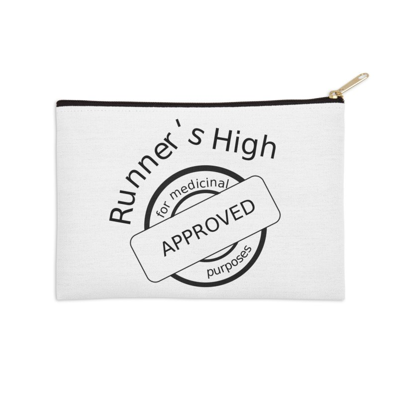 Runner's High Accessories Zip Pouch by hotday's Artist Shop