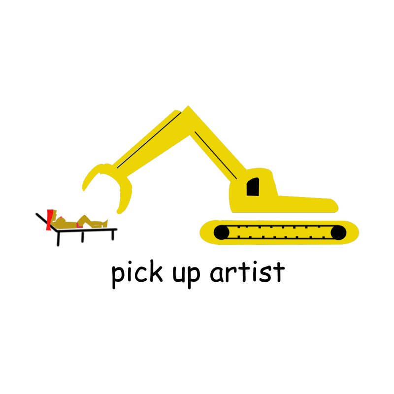 Pick Up Artist Accessories Mug by hotday's Artist Shop