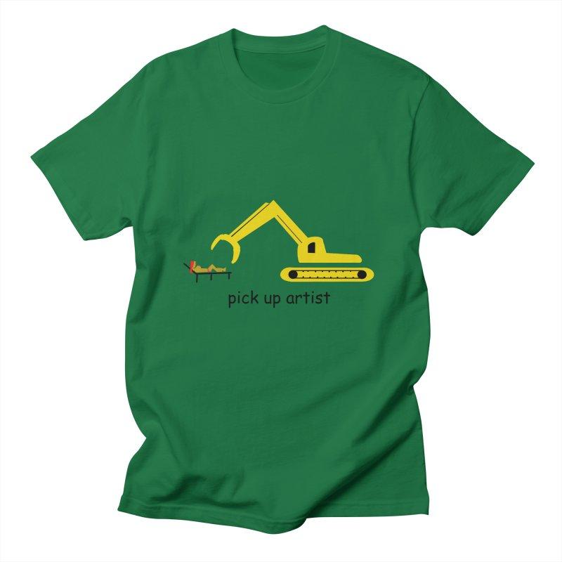 Pick Up Artist Men's T-Shirt by hotday's Artist Shop