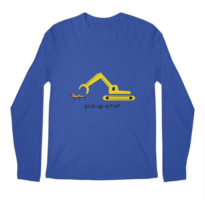 Pick Up Artist Men's Regular Longsleeve T-Shirt by hotday's Artist Shop
