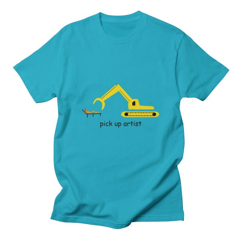 Pick Up Artist Men's Regular T-Shirt by hotday's Artist Shop