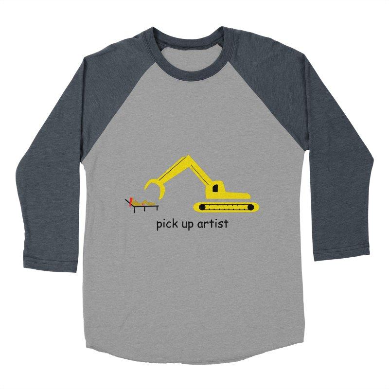 Pick Up Artist Men's Baseball Triblend Longsleeve T-Shirt by hotday's Artist Shop