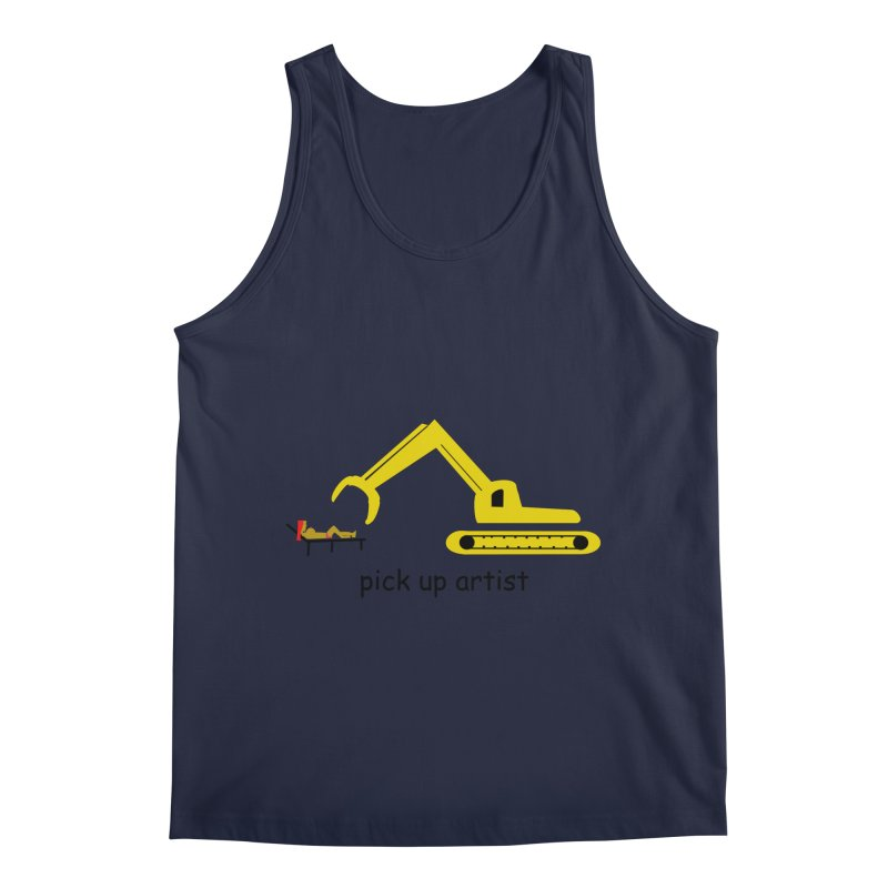 Pick Up Artist Men's Regular Tank by hotday's Artist Shop