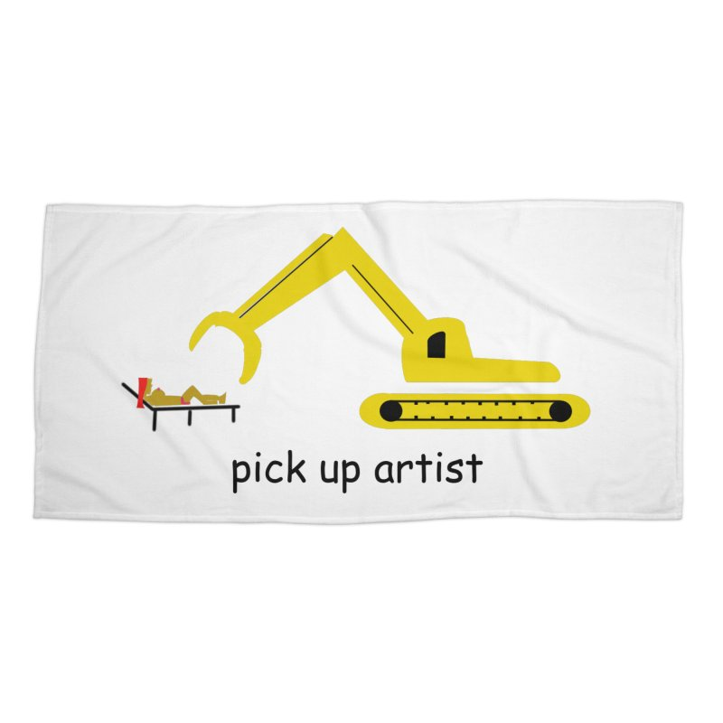 Pick Up Artist Accessories Beach Towel by hotday's Artist Shop