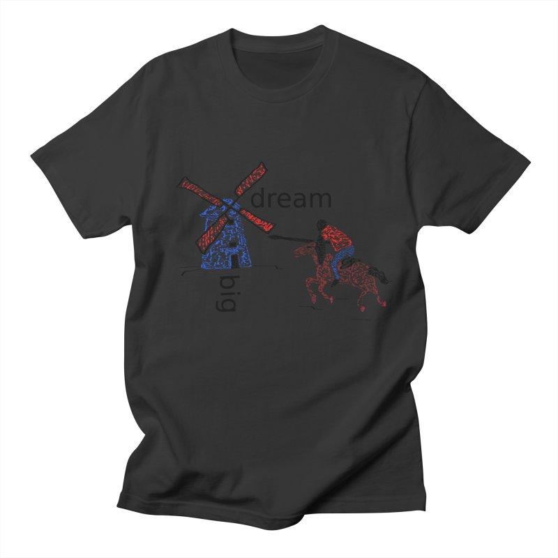 Don Quixote Men's T-Shirt by hotday's Artist Shop