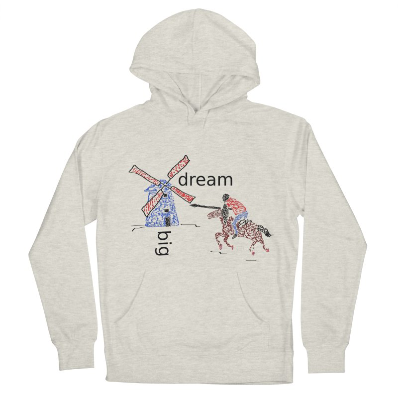 Don Quixote Men's French Terry Pullover Hoody by hotday's Artist Shop