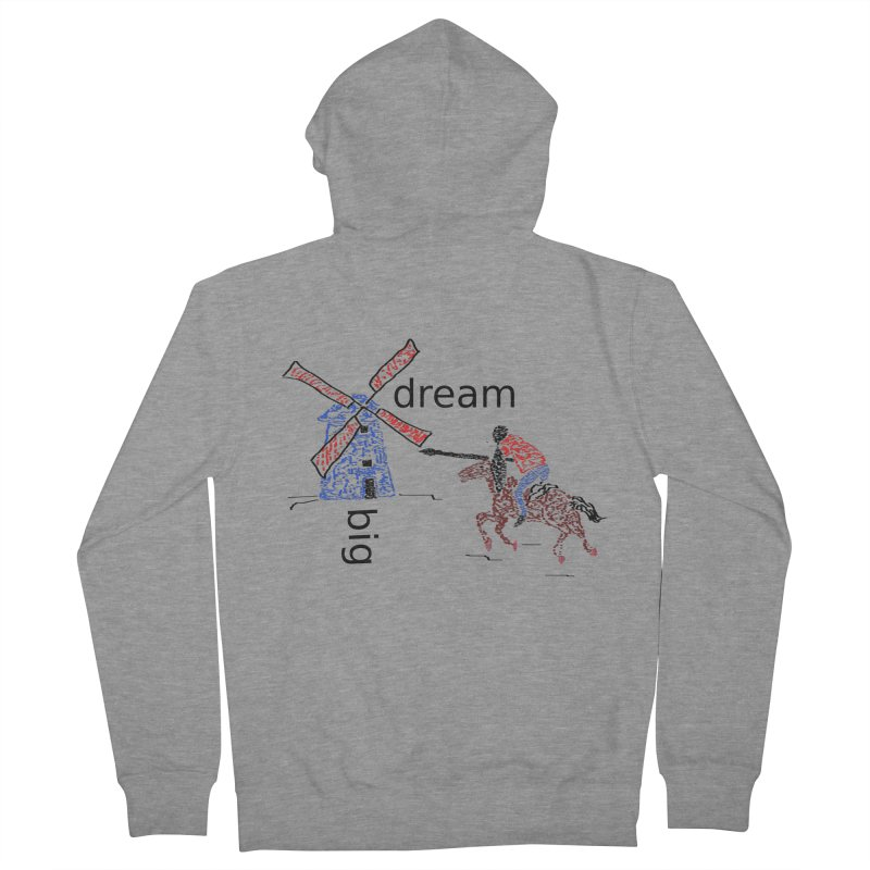 Don Quixote Women's French Terry Zip-Up Hoody by hotday's Artist Shop