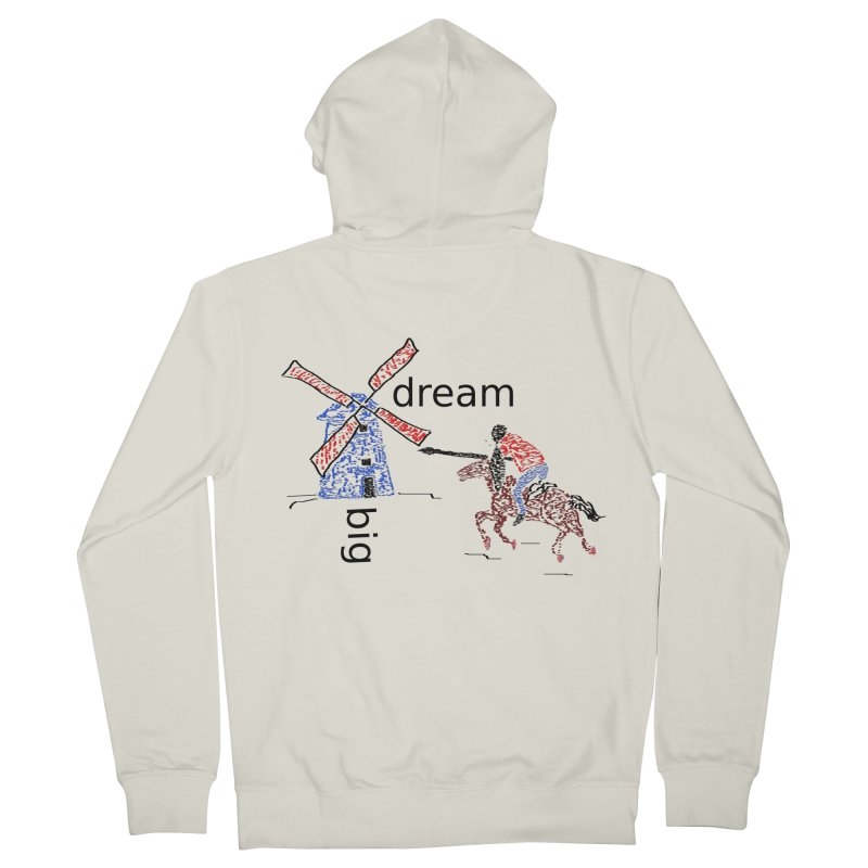 Don Quixote Men's French Terry Zip-Up Hoody by hotday's Artist Shop