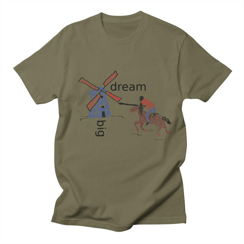 Don Quixote Men's Regular T-Shirt by hotday's Artist Shop