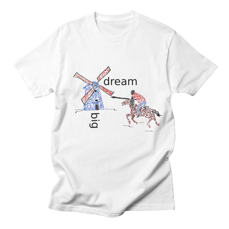 Don Quixote Men's Regular T-Shirt by hotday's Artist Shop