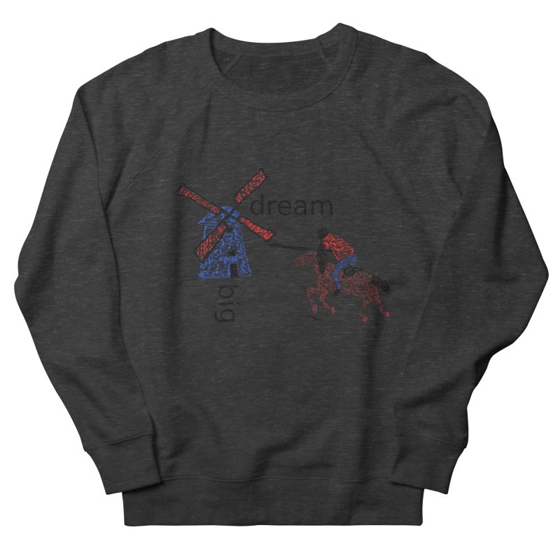 Don Quixote Women's French Terry Sweatshirt by hotday's Artist Shop