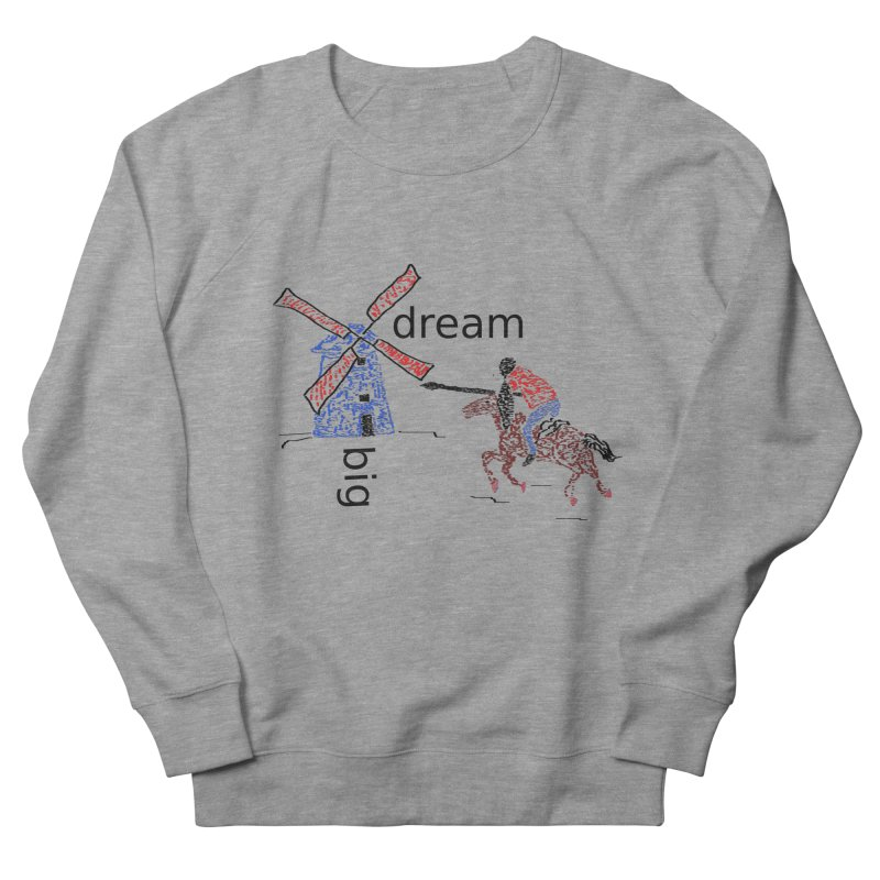 Don Quixote Men's French Terry Sweatshirt by hotday's Artist Shop