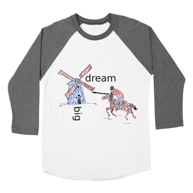 Don Quixote Women's Baseball Triblend Longsleeve T-Shirt by hotday's Artist Shop