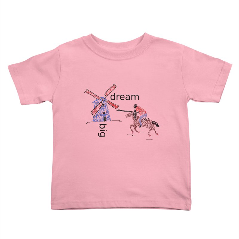 Don Quixote Kids Toddler T-Shirt by hotday's Artist Shop
