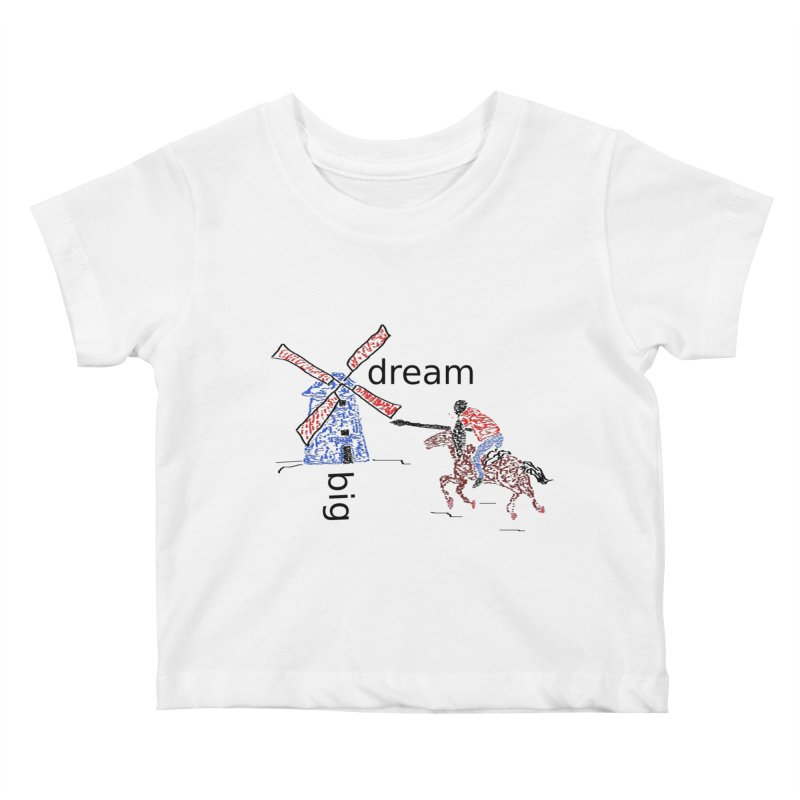 Don Quixote Kids Baby T-Shirt by hotday's Artist Shop