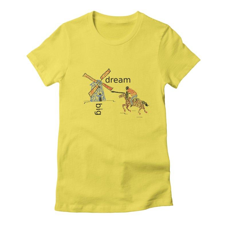 Don Quixote Women's T-Shirt by hotday's Artist Shop