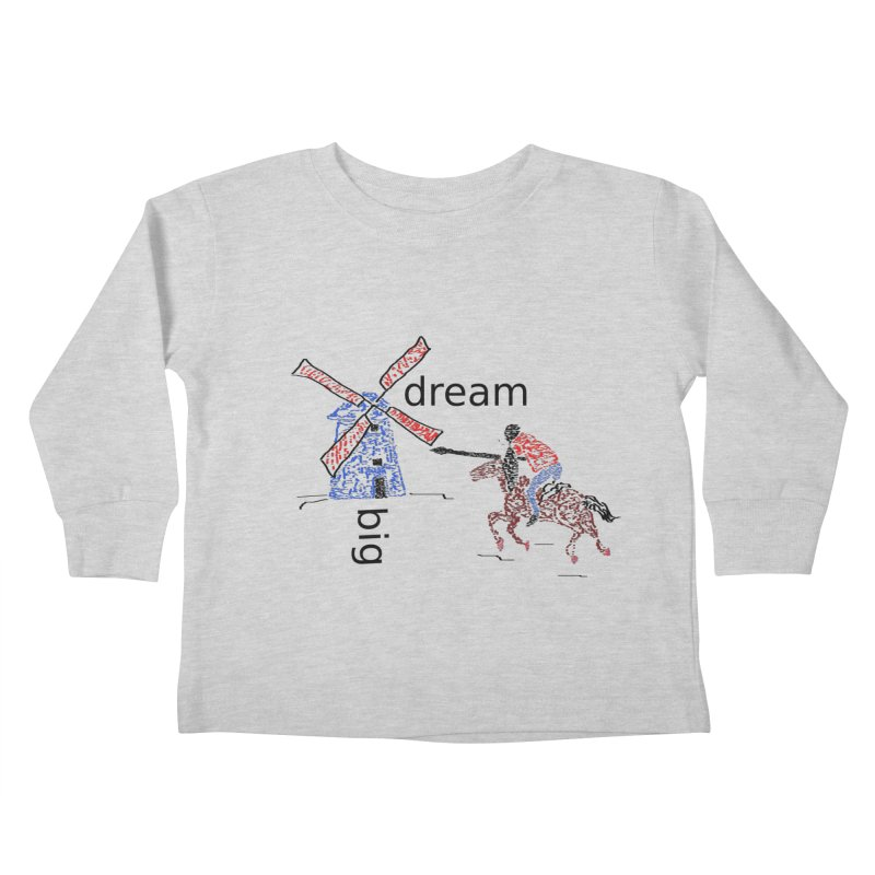 Don Quixote Kids Toddler Longsleeve T-Shirt by hotday's Artist Shop