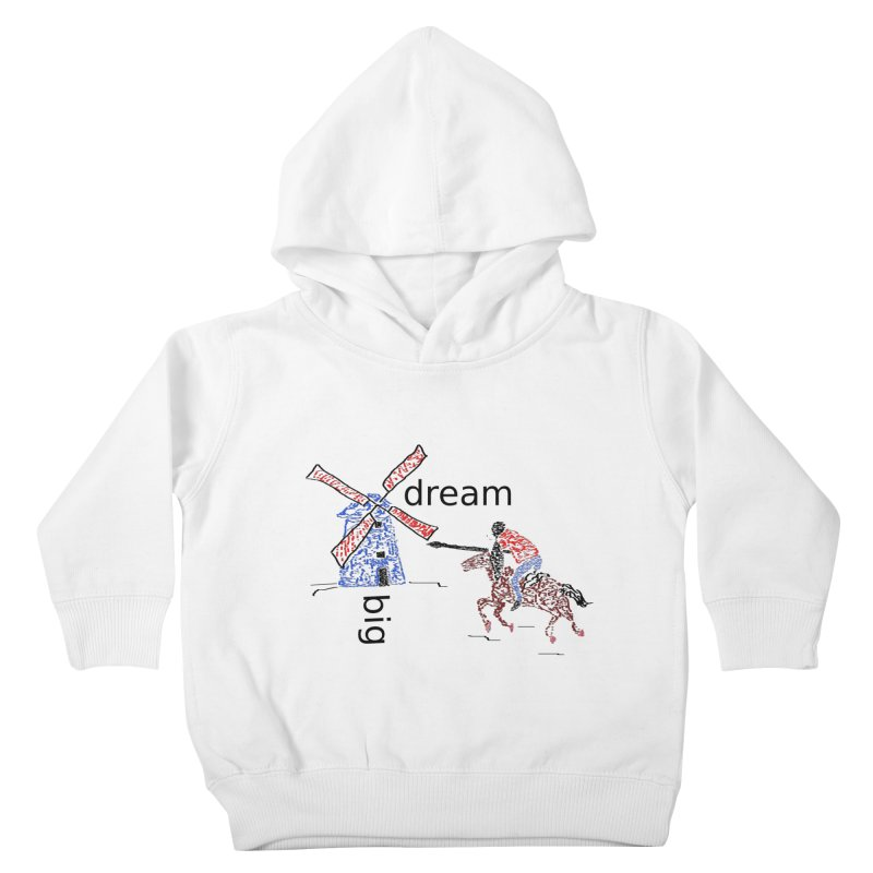 Don Quixote Kids Toddler Pullover Hoody by hotday's Artist Shop
