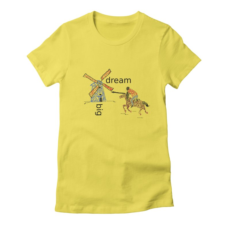 Don Quixote Women's T-Shirt by hotday's Artist Shop