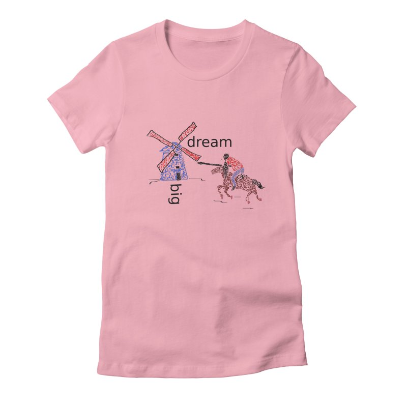 Don Quixote Women's Fitted T-Shirt by hotday's Artist Shop