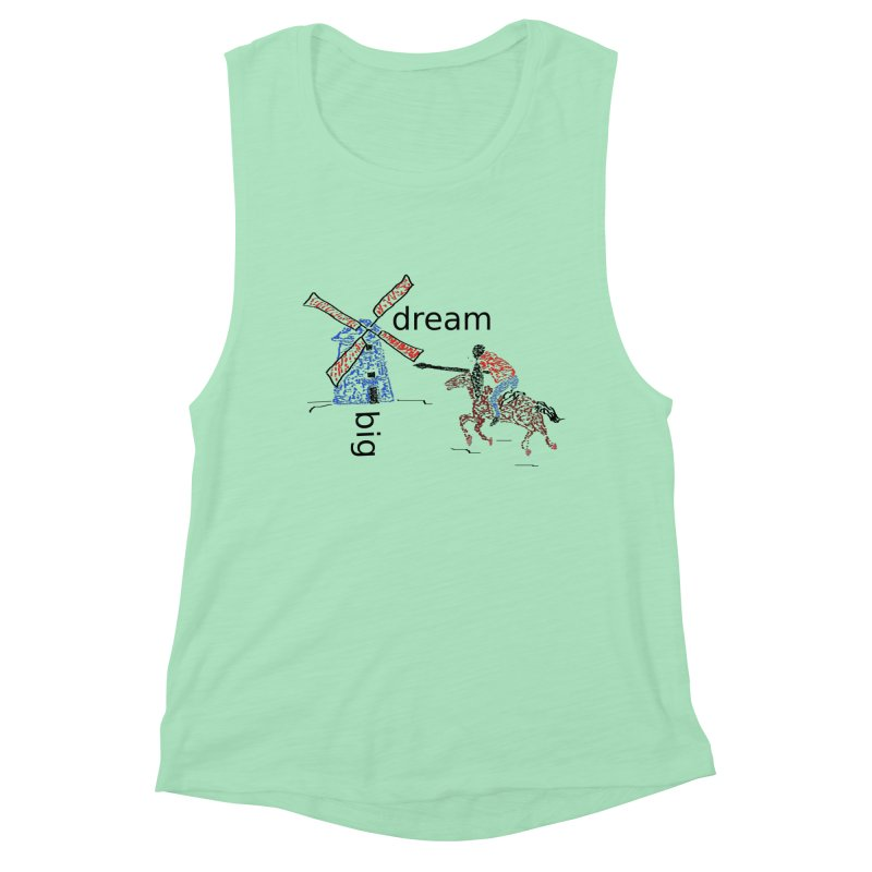 Don Quixote Women's Muscle Tank by hotday's Artist Shop