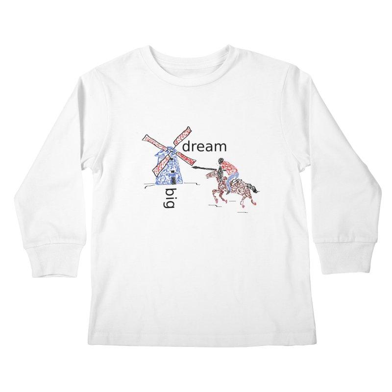 Don Quixote Kids Longsleeve T-Shirt by hotday's Artist Shop