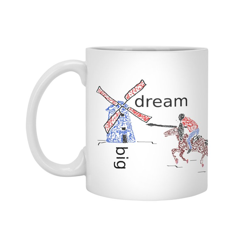 Don Quixote Accessories Standard Mug by hotday's Artist Shop