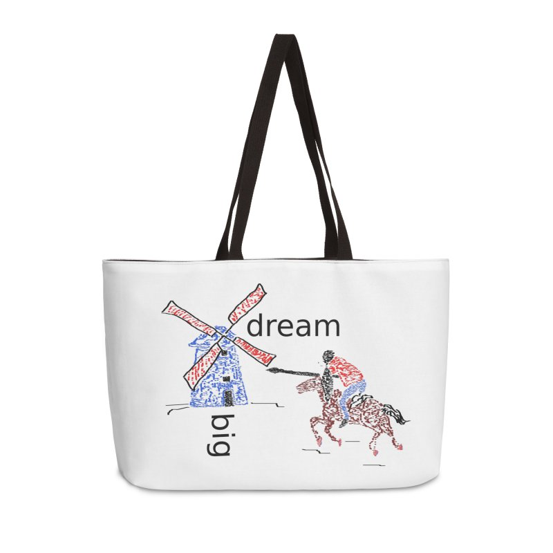 Don Quixote Accessories Weekender Bag Bag by hotday's Artist Shop
