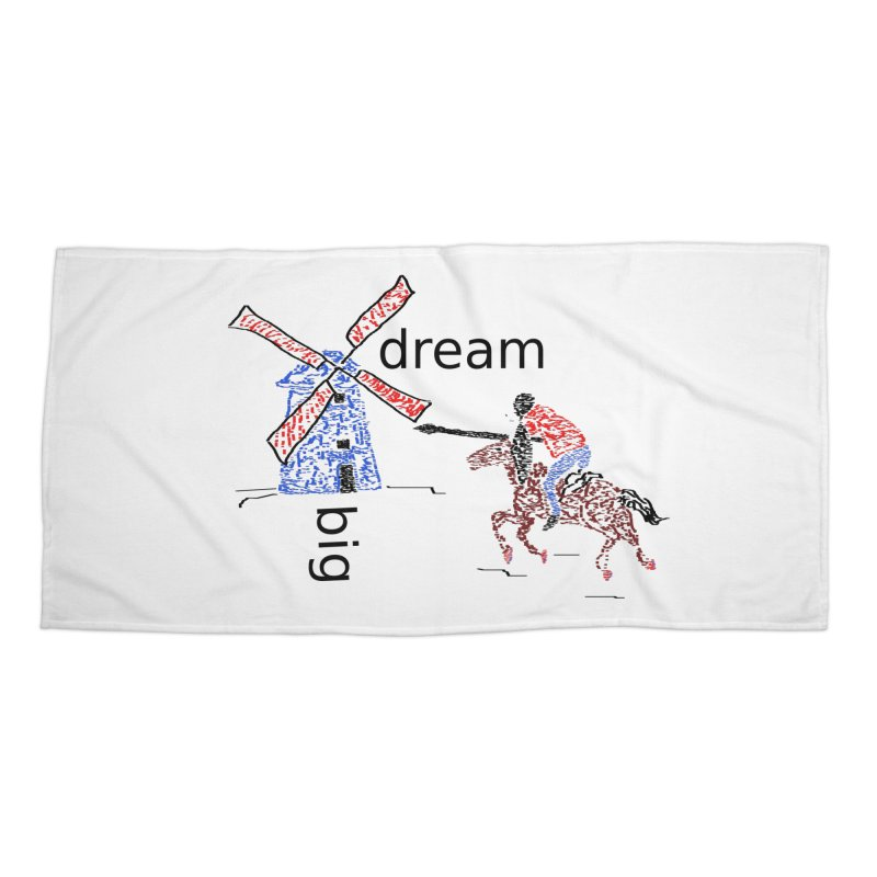 Don Quixote Accessories Beach Towel by hotday's Artist Shop