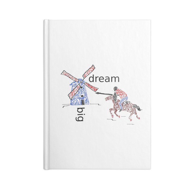 Don Quixote Accessories Lined Journal Notebook by hotday's Artist Shop