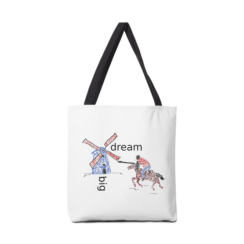 Don Quixote Accessories Tote Bag Bag by hotday's Artist Shop