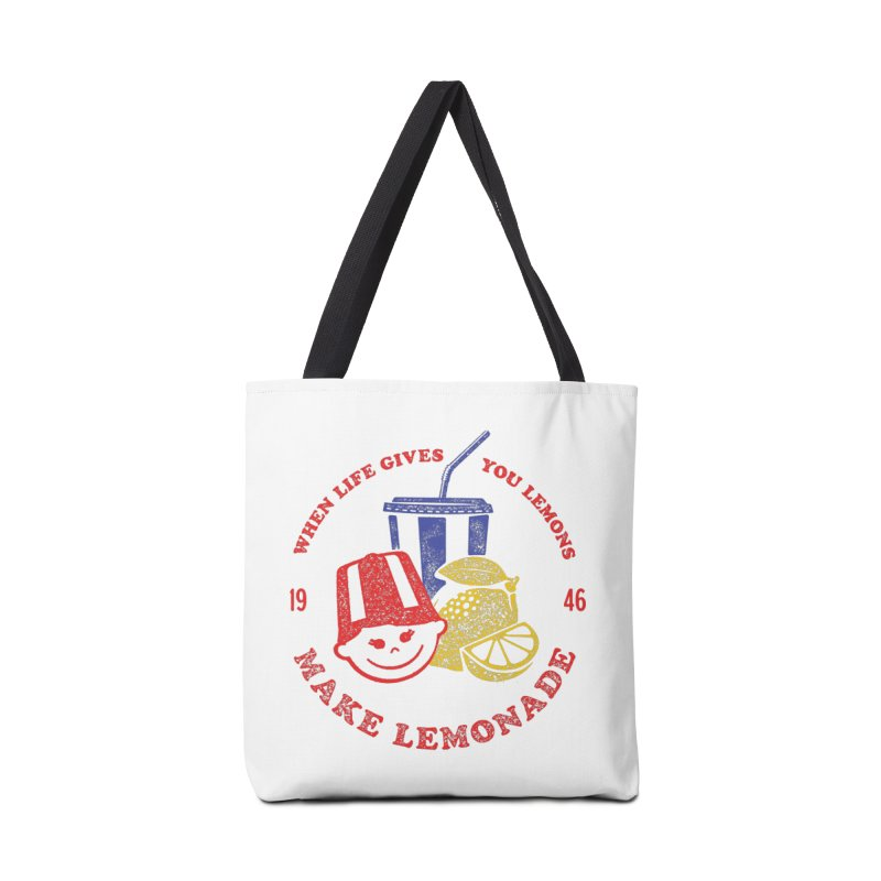 When Life Gives You Lemons Accessories Bag by Hot Dog On A Stick's Artist Shop
