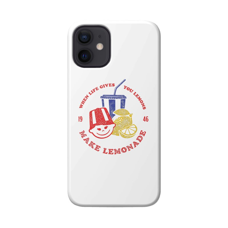 When Life Gives You Lemons Accessories Phone Case by Hot Dog On A Stick's Artist Shop