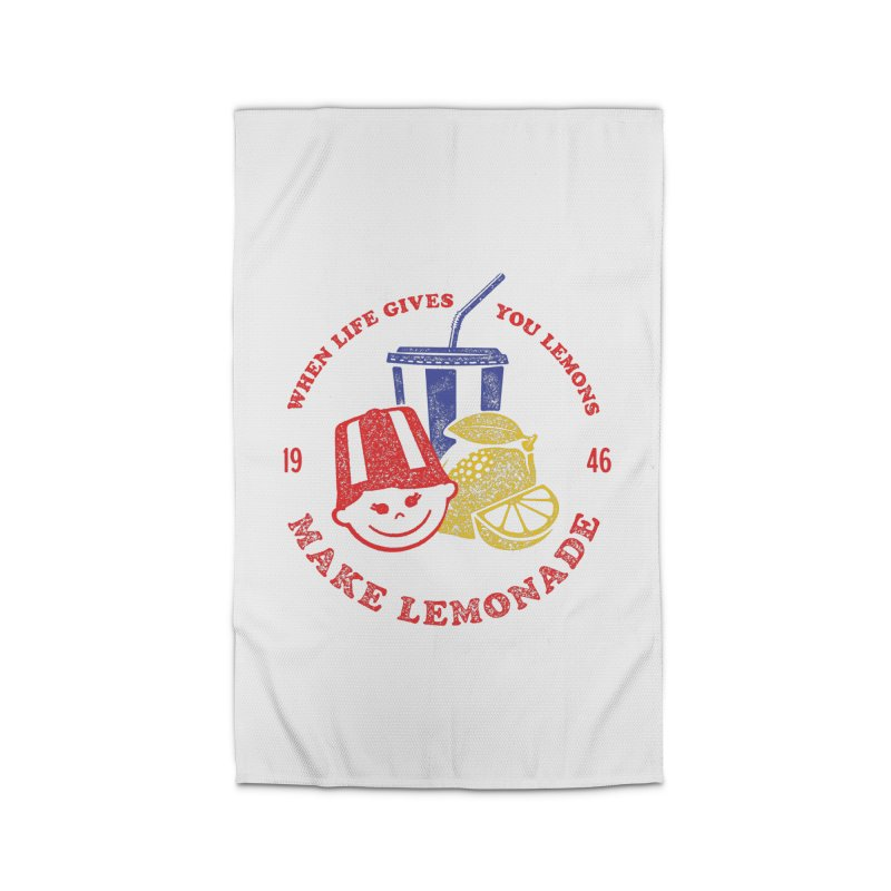 When Life Gives You Lemons Home Rug by Hot Dog On A Stick's Artist Shop